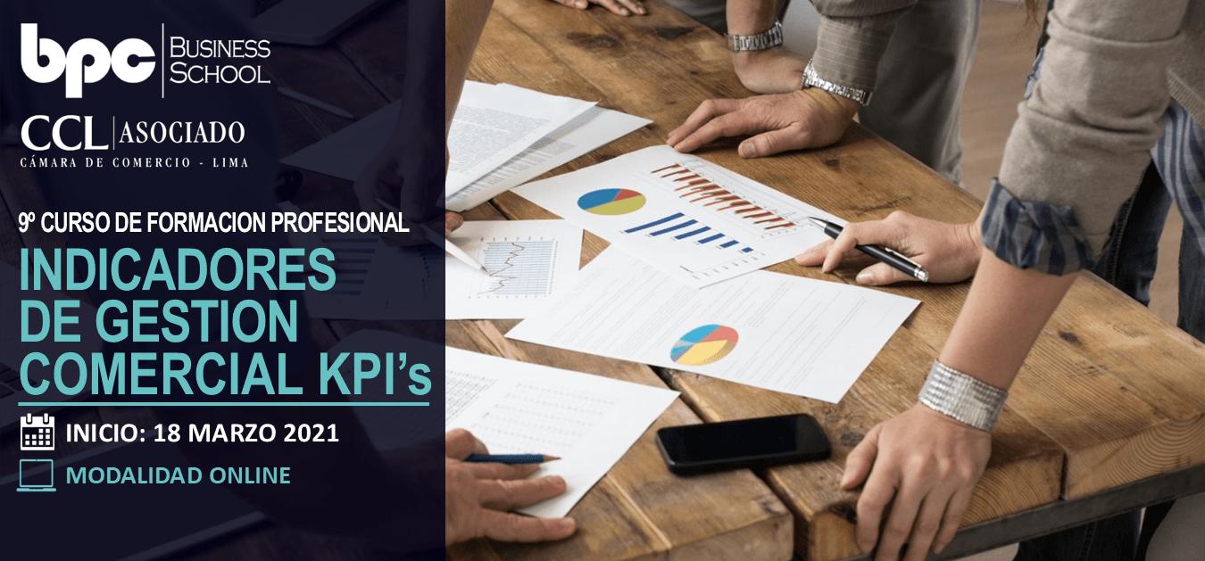 9º Curso de Indicadores de Gestión Comercial KPI's