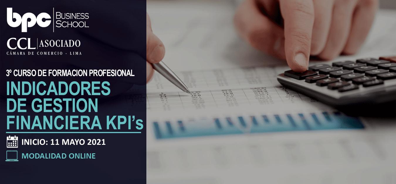 3º Curso en Indicadores de Gestión Financiera KPI's