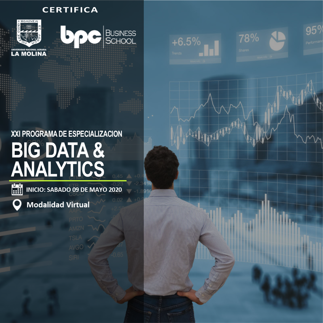 XXI PDE en Big Data & Analytics