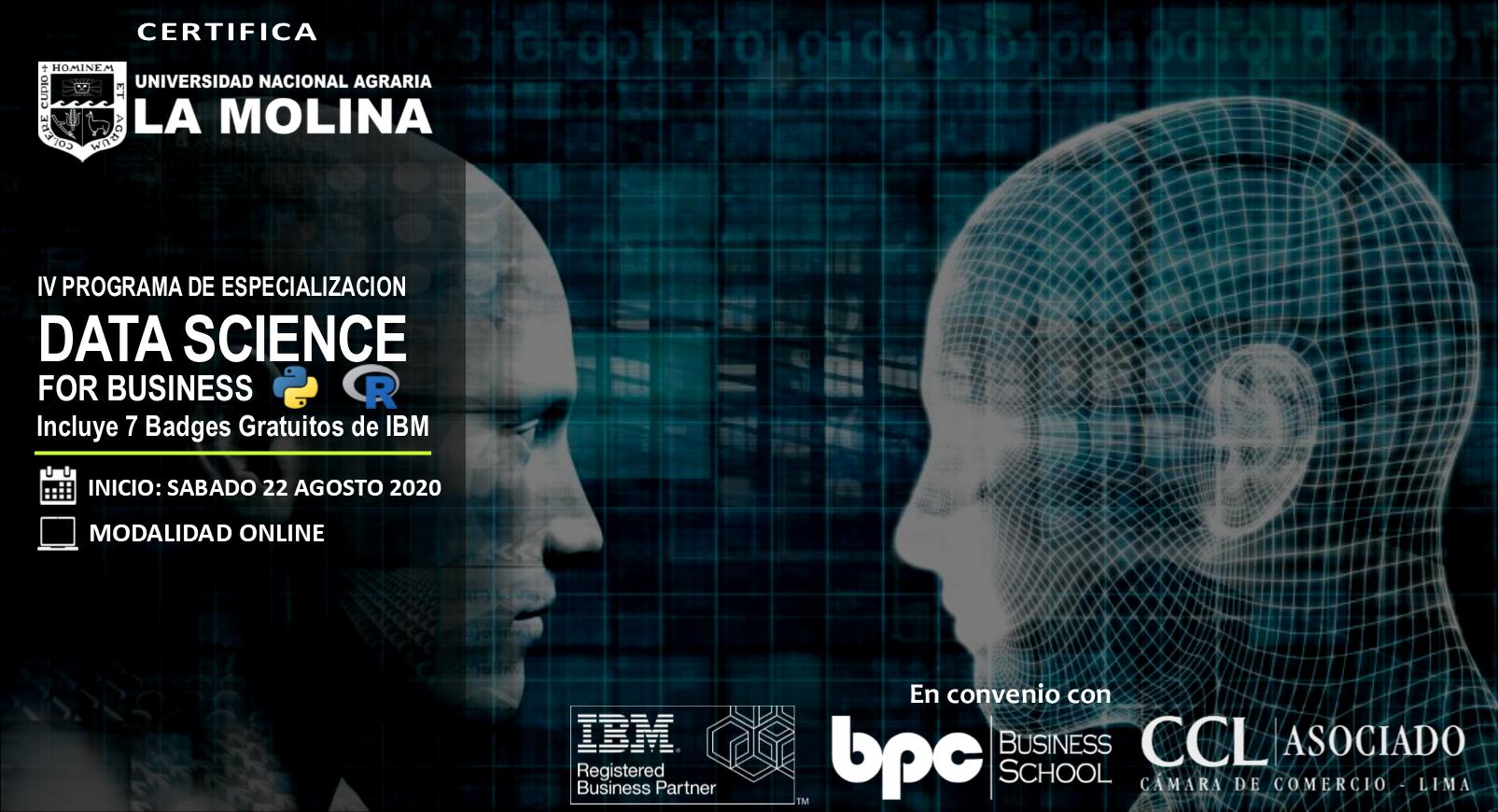 IV PDE en Data Science for Business