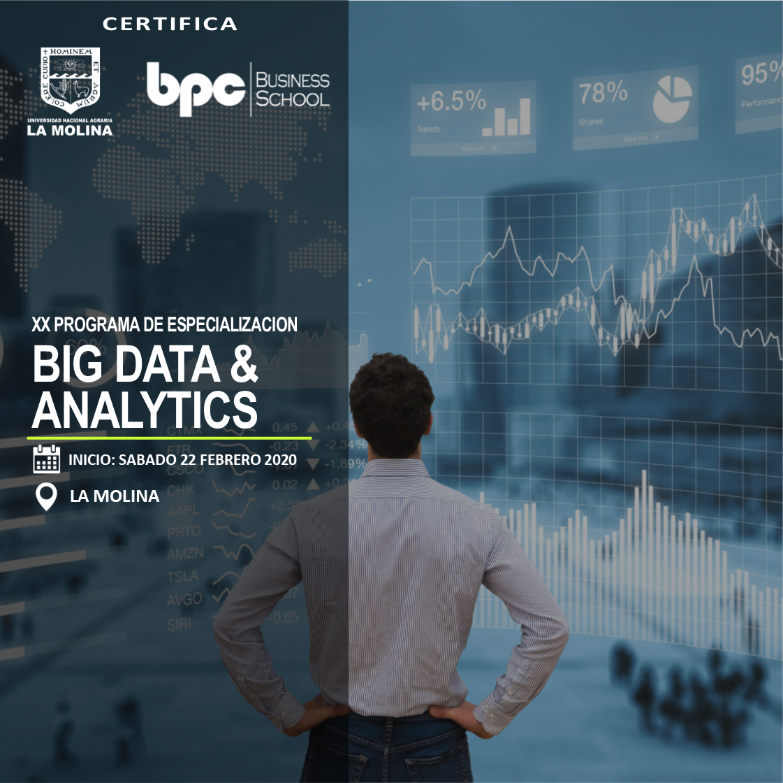 XX PDE en Big Data & Analytics (Estado de Emergencia)