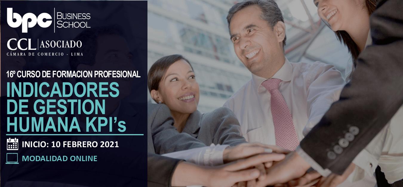 16º Curso de Indicadores de Gestión Humana KPI's